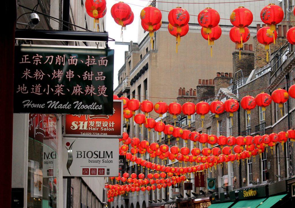 decoración de la calle