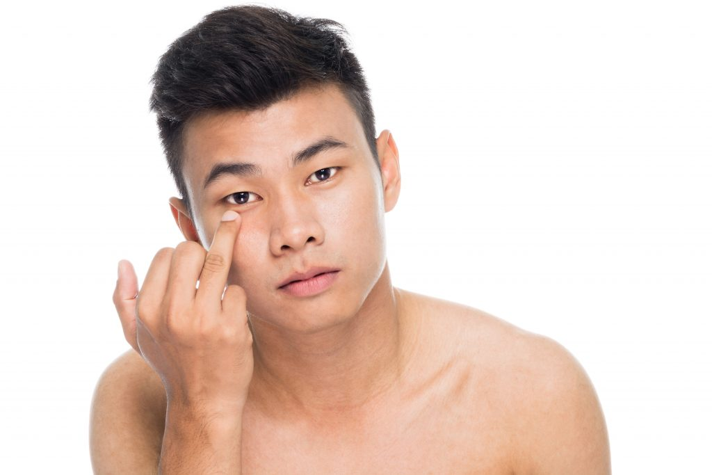 chinese men cosmetic